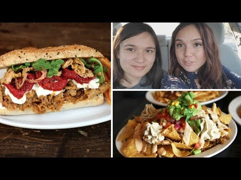 What I Ate + Did: Vegan Steak Sandwich, Nachos (Vlog)