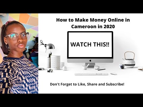 How to make money online in Cameroon