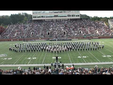 Ohio University Marching 110 Halftime Show, September 29, 2018.