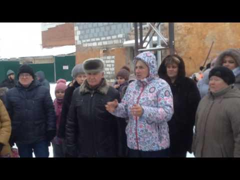 Встреча с жителями города Дегтярска Свердловской области по поводу экологического бедствия 5 часть.