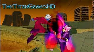 Dragon Ball Z Shin Budokai 2 Mods - Black Goku Ssj Rose Vs Super Mira