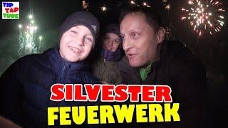Silvester Feuerwerk uncut 💥 2017 / 2018 💣 FROHES NEUES JAHR 😍 TipTapTube 😁 Familienkanal 👨👩👦👦