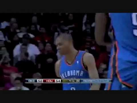 Russell Westbrook EXPLODES over Shane Battier!!!