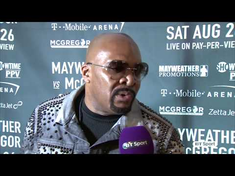 "Thumbnail: ""It's electrifying!"" Ellerbe on Mayweather v McGregor worldwide press tour"