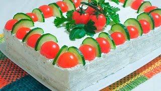 #Торт Сэндвич #Без Выпечки #Очень ВКУСНО