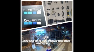 Unboxing of Go Pro Hero 6 Sports and Action Camera Black 12 MP