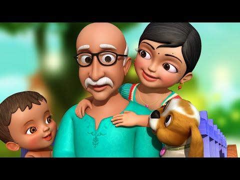 download தாத�தா தாத�தா தை | Tamil Rhymes for Children | Grandpa Song | Infobells