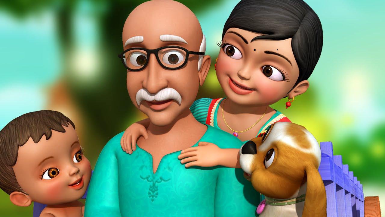 tamil rhymes children grandpa song infobells youtube
