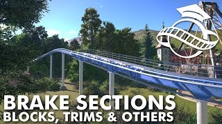 Planet Coaster College - Brake Sections (Block, Trims & Friction/Magnetic)