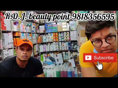 All branded cosmetics &  beauty parlour items cheapest price Lal building Mangolpuri