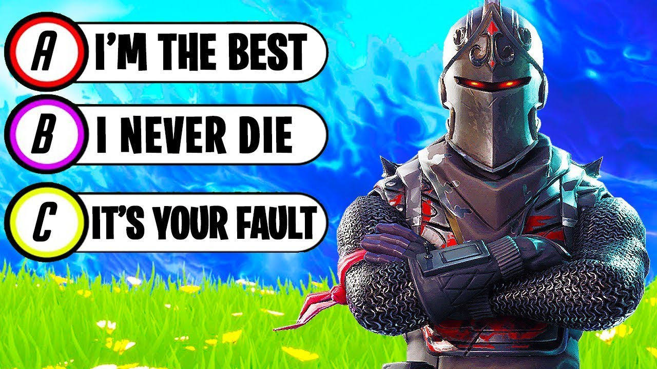 fortnite test teamchaos - what fortnite player are you quiz