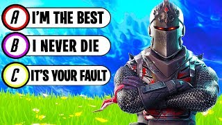 Are You a SWEATY Fortnite Player? (TEST)