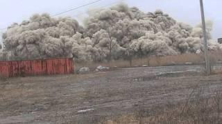 Dykon Explosive Demolition - Clinker Building Dundee, MI