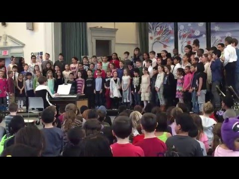 Saltonstall School 3rd / 4th Grade Chorus / March 2016