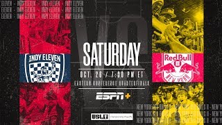 2019 USL Championship Playoffs: Indy Eleven vs. New York Red Bulls II