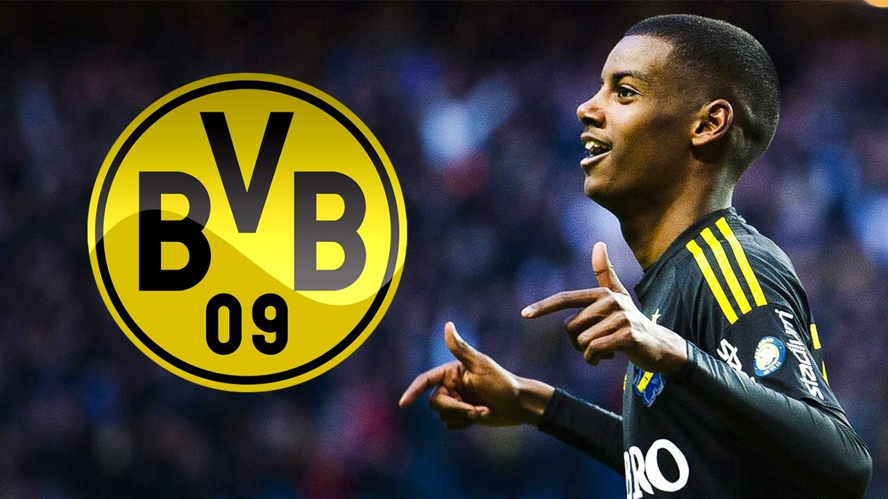Maillot THIRD Borussia Dortmund Aleksander Isak