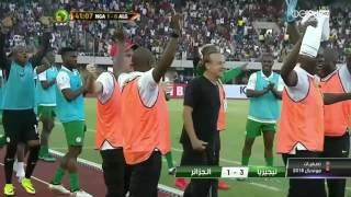 أهداف نيجيريا 3-1 الجزائر * الكاميرون 1-1 زامبيا تصفيات كأس العالم روسيا 2018