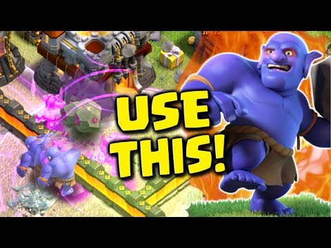 FARM WITH THIS STRATEGY IF YOU WANT GOLD & ELIXIR! Bowler Attack Strategy | Clash of Clans