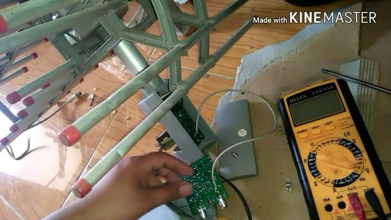 Service The Remote Antenna Rotating Antenna Servis Antena Remot