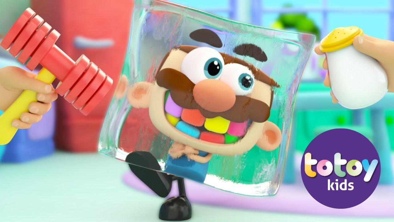Stories for kids Jose Comelon Learning Soft Skills making Popsicles ends up Frozen!! Totoykids Story