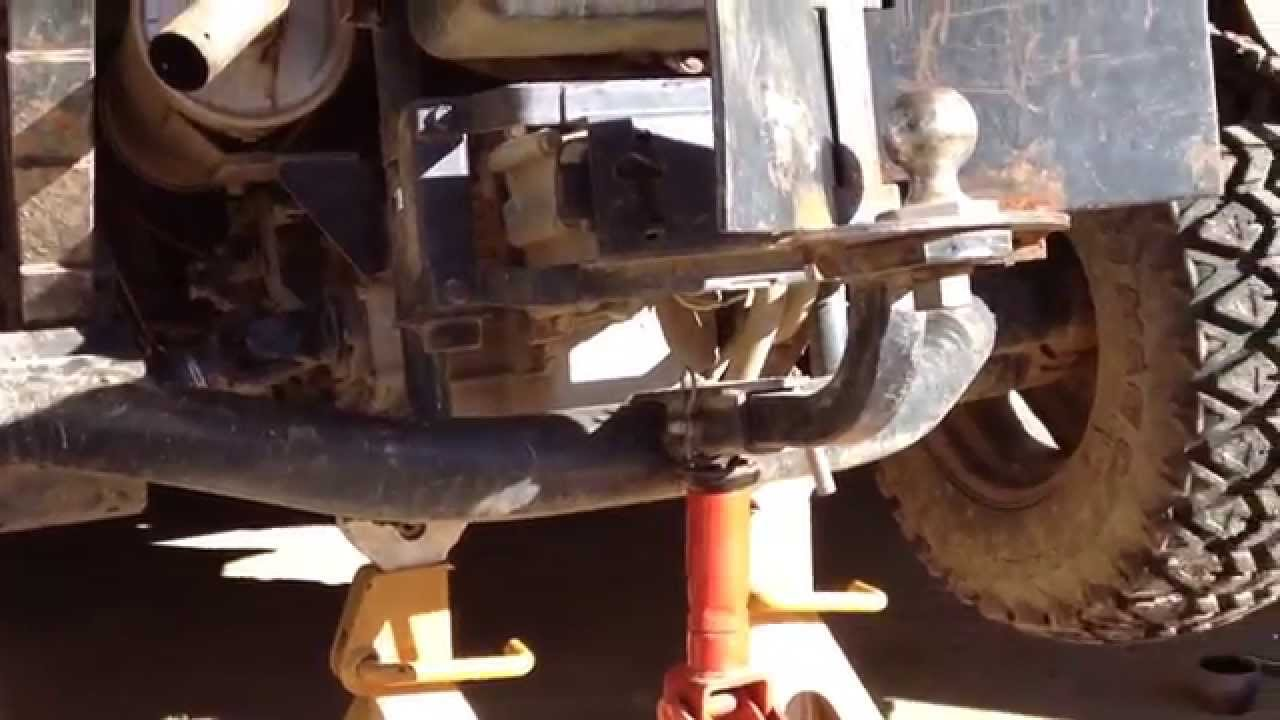 Getting Started Rtv900 Rear Axle Repair