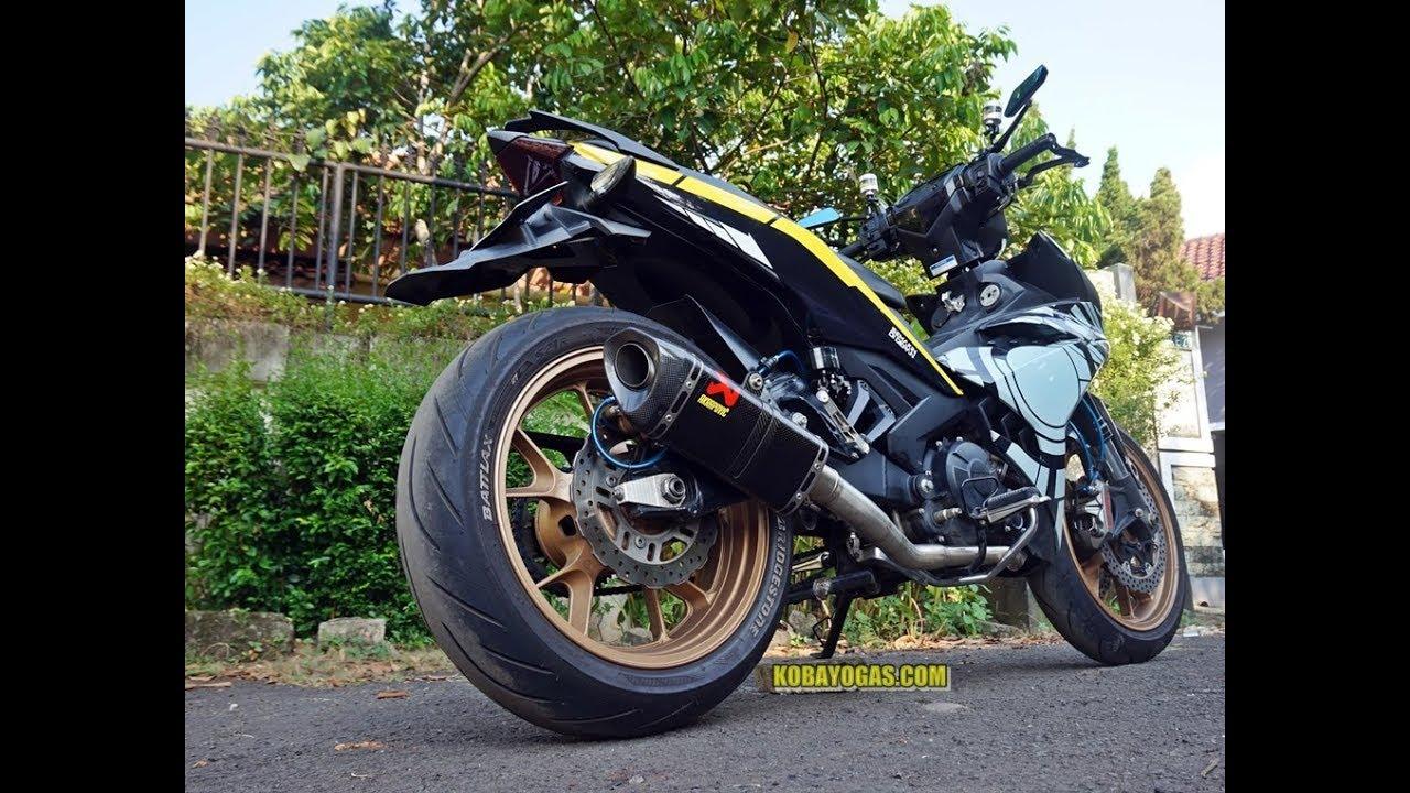 Yamaha MX King Modif Sultan Hedon Rubah Kaki Kaki Moge Hampir 50juta
