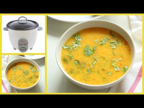 Howto: Make Yellow Dal In A Rice Cooker !