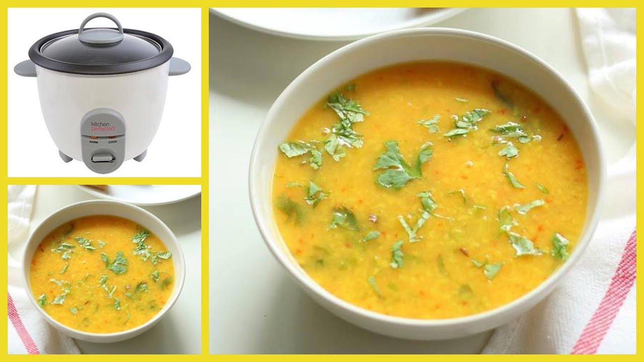 Howto make yellow dal in a rice cooker youtube forumfinder Choice Image