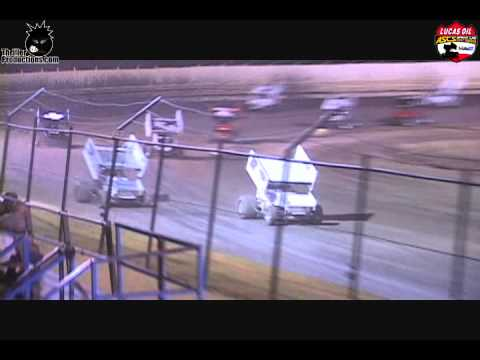 ASCS National Tour at Creek County Speedway Highlights 8-17-12