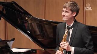 ROSL Annual Music Competition Gold Medal Final Jonathan Radford Turnage Elegy