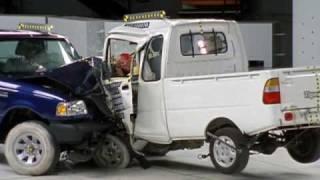 Low-speed vehicle crash tests