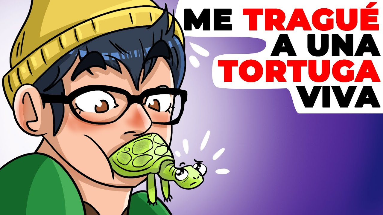 Me tragué a una tortuga viva | Historia animada