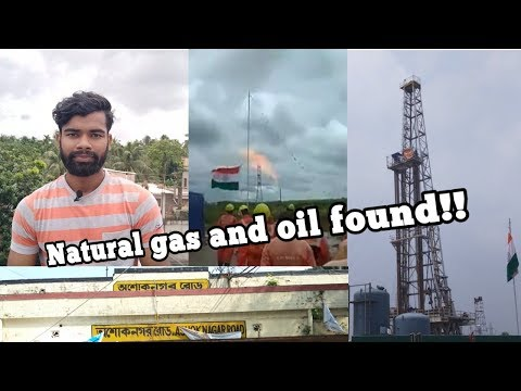 NATURAL GAS AND OIL FOUND||ASHOKNAGAR||WEST BENGAL||ONGC