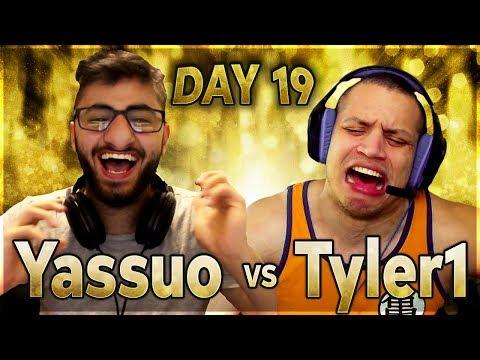 IS IT OVER?! | YASSUO VS TYLER1 - $10K BET: DAY 19