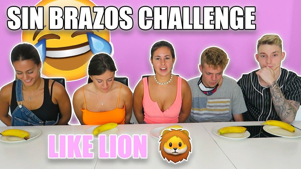 ¡SIN BRAZOS CHALLENGE! 😂 GIGIIS SE ENFADA 😅 | @albalopez97_