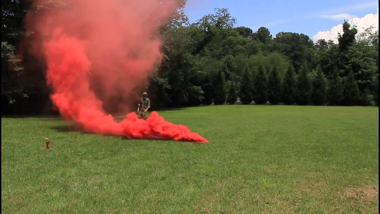 M18 Smoke Grenade Test