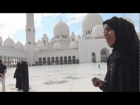 Tour of Sheikh Zayed Mosque, Abu Dhabi Part 1