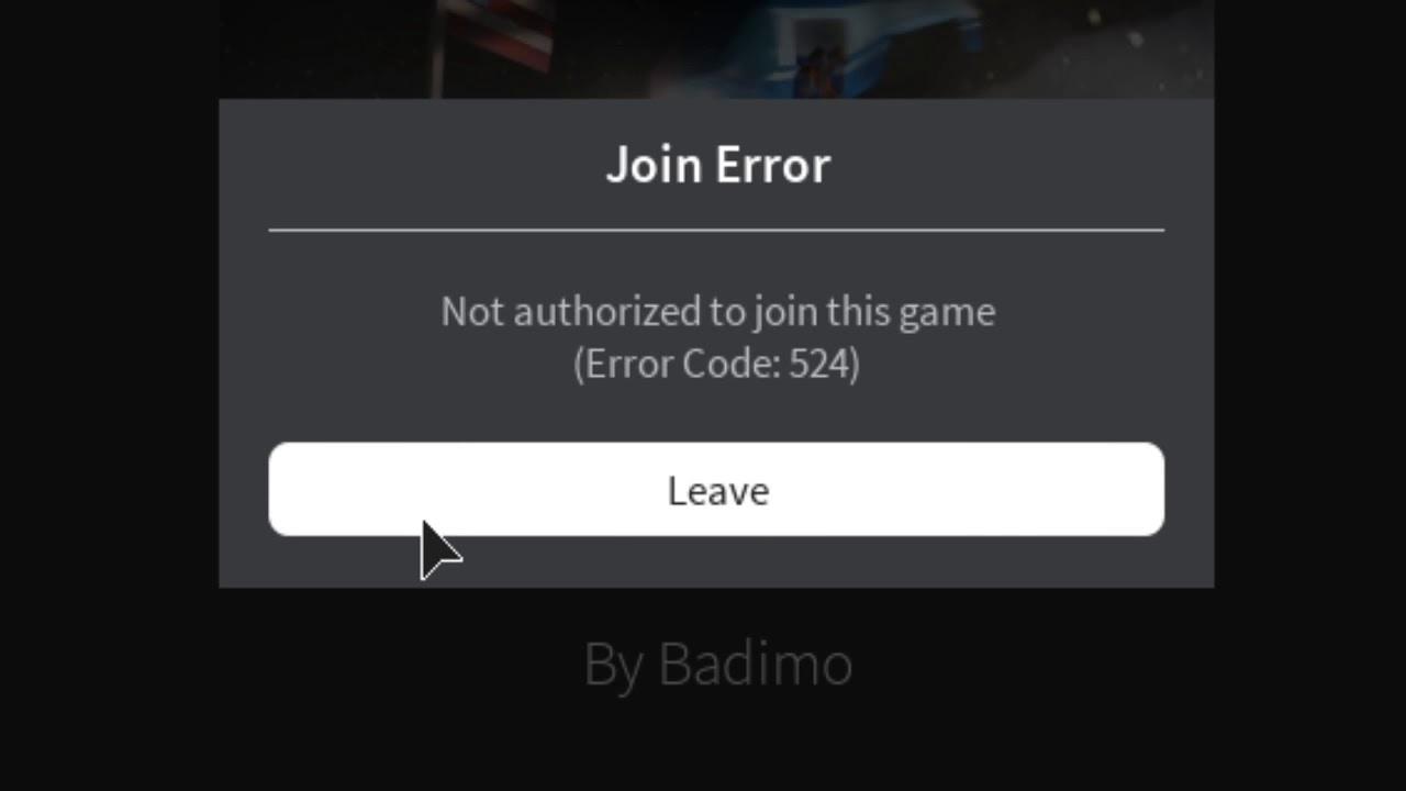 How To Fix Roblox Error Code 524 Youtube