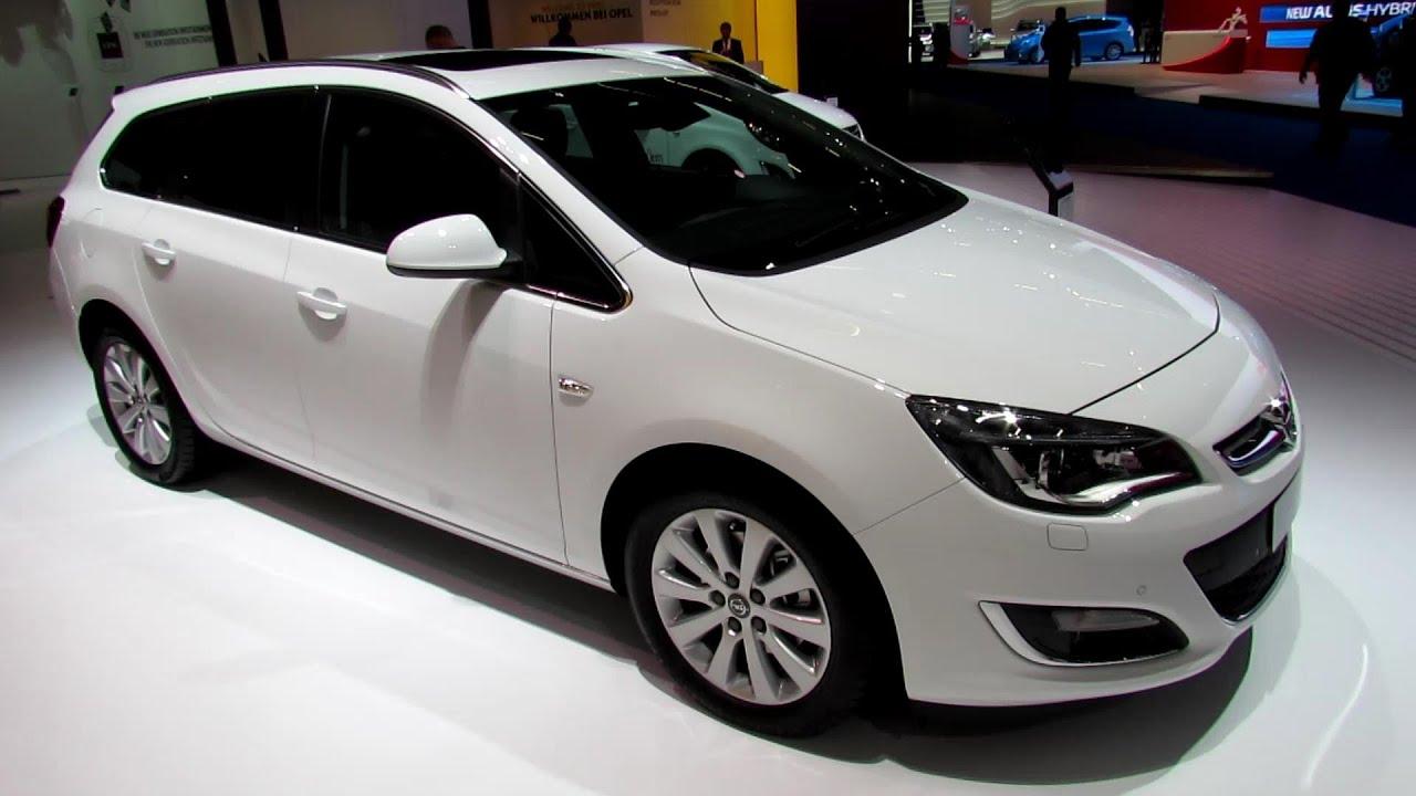 Lovely 2014 Opel Astra Sports Tourer Diesel Exterior And Interior Walkaround 2013  Frankfurt Motor Show