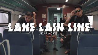 K-Clique   Lane Lain Line Lyrics Instrumental Karaoke   Reprod YanTxure