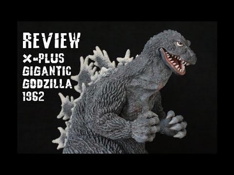 X Plus Gigantic Series Godzilla 1962 Review Youtube