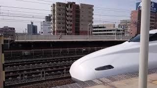 N700A  G24編成  全検明け試運転上り  三河安城駅発車