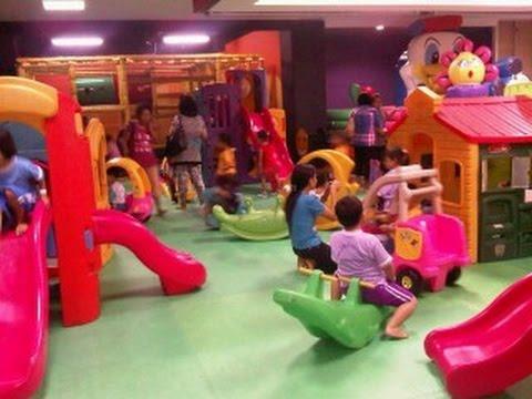 Mall Cikampek 2014 Wahana Tempat Bermain Anak 2014 Youtube