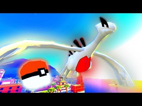 "Minecraft Pixelmon Lucky Block Island - ""LUGIA'S LEGENDARY BEACH!"" - (Minecraft Pokemon Mod)"