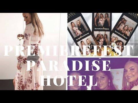 Vlogg   Premierefest Paradise Hotel - Del 2
