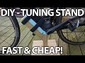 DIY Bike Tuning Stand