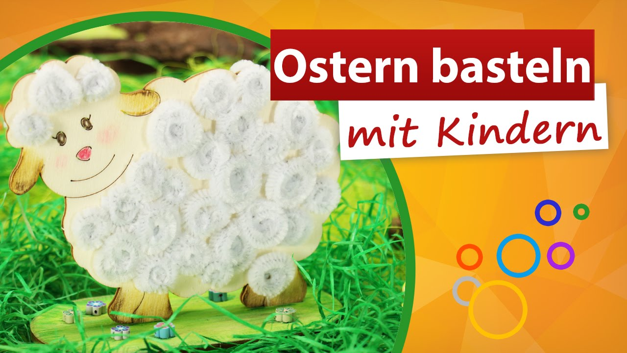 ostern basteln mit kindern osterschaf basteln trendmarkt24 youtube. Black Bedroom Furniture Sets. Home Design Ideas