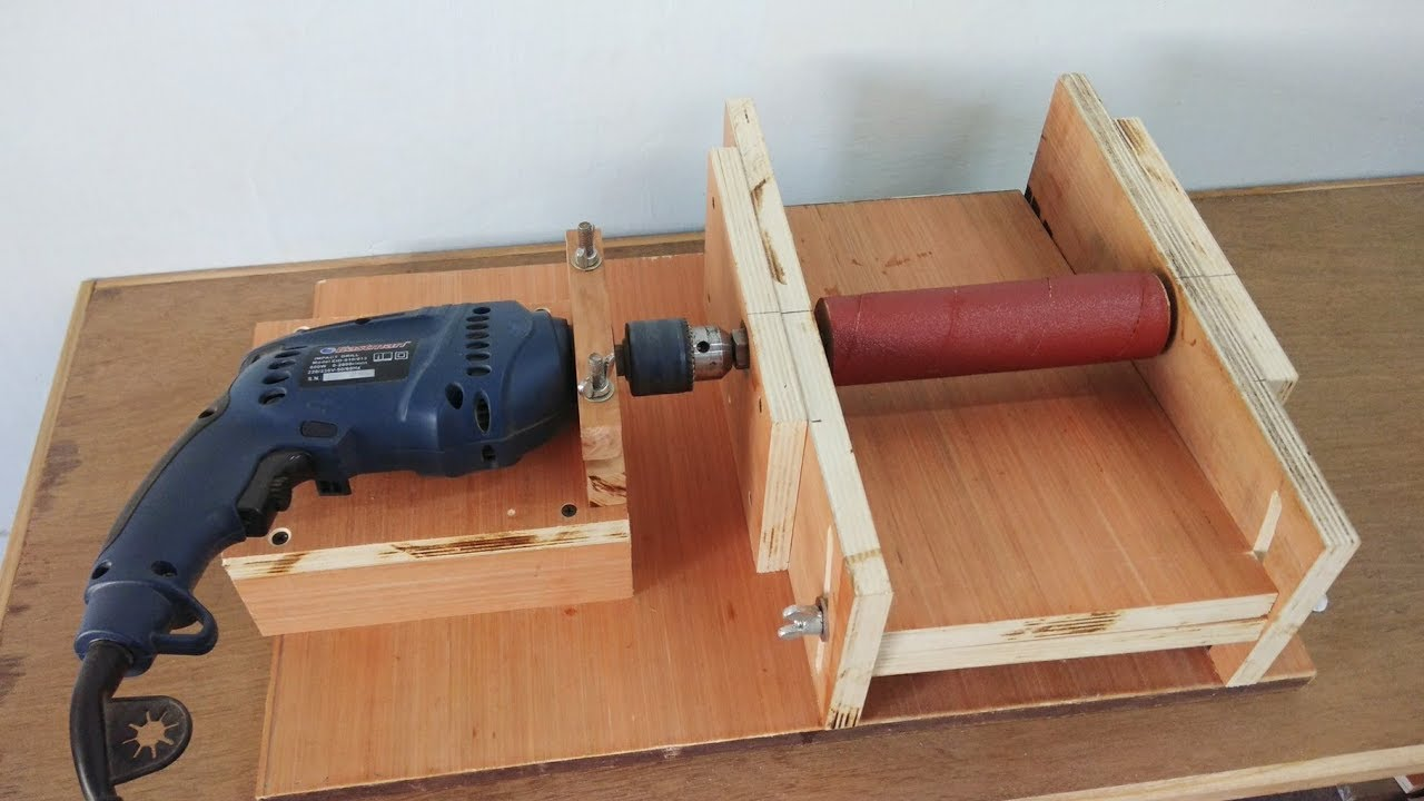 "DIY Homemade 8"" Drum Sander / Thickness"