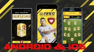 FIFA 17 COMPANION (ФИФА 17 КОМПАНЬОН ) для ANDROID/iOS/WINDOWS - ОБЗОР И ВОЗМОЖНОСТИ   drintik