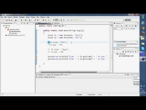 Sıfırdan Java 07 - Set ve Get Metodları